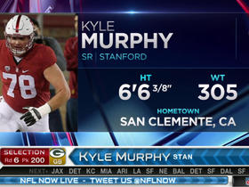 Watch: Packers pick Kyle Murphy No. 200