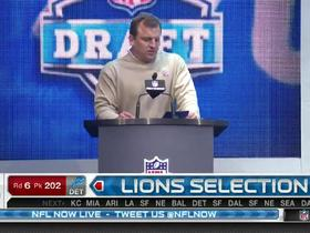 Watch: Lions pick Anthony Zettel No. 202