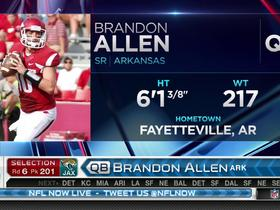Watch: Jaguars pick Brandon Allen No. 201