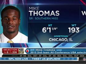 Watch: Rams pick Mike Thomas No. 206