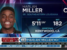 Watch: Cardinals pick Harlan Miller No. 205