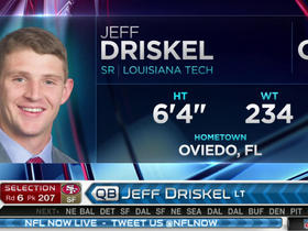 Watch: 49ers pick Jeff Driskel No. 207