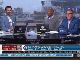 Watch: Patriots pick Kamu Grugier-Hill No. 208