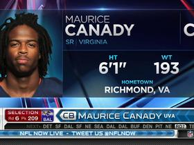 Watch: Ravens pick Maurice Canady No. 209