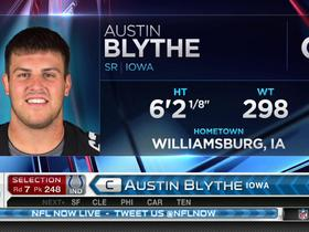 Watch: Colts pick Austin Blythe No. 248