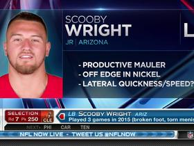Watch: Browns pick Scooby Wright No. 250