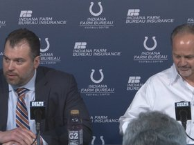 Watch: Pagano and Grigson: Draft Day 3 Press Conference