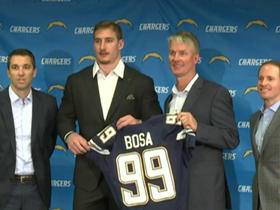Watch: How will Joey Bosa fit with the Chargers' defense?