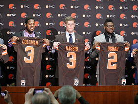 Watch: Casserly evaluates, grades the Browns pick-heavy draft