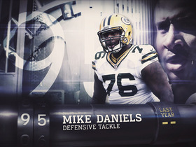 Watch: 'Top 100 Players of 2016': No. 95 Mike Daniels