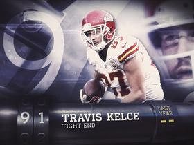 Watch: 'Top 100 Players of 2016': No. 91 Travis Kelce