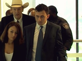 Watch: Johnny Manziel appears in court on Thursday