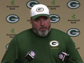 Watch: McCarthy on Rookie Minicamp: 'It's never been clean, I don't expect it to'