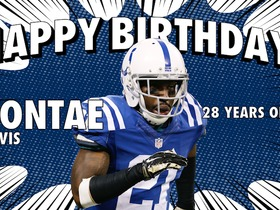 Watch: Happy 28th birthday Vontae Davis
