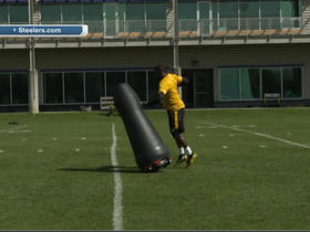 Watch: Steelers using a virtual player in practice