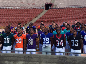 Watch: NFL Rookies Rock New Jerseys and Talk Madden at Rookie Premiere
