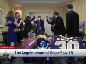 Watch: Los Angeles is awarded host of Super Bowl LV