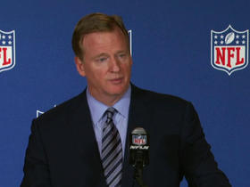Watch: Goodell discusses potential Raiders move to Las Vegas