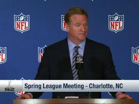 Watch: Goodell on concussion research: 'This is our number one priority'
