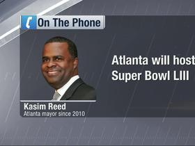 Watch: Kasim Reed: 'It's a terrific day here'