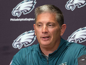 Watch: Why is Eagles defensive coordinator discussing QB situation?