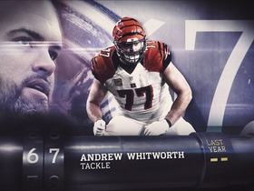 Watch: 'Top 100 Players of 2016': No. 67 Andrew Whitworth