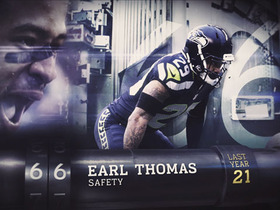 Watch: 'Top 100 Players of 2016': No. 66 Earl Thomas