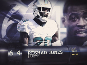 Watch: 'Top 100 Players of 2016': No. 64 Reshad Jones
