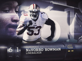 Watch: 'Top 100 Players of 2016': No. 61 NaVorro Bowman