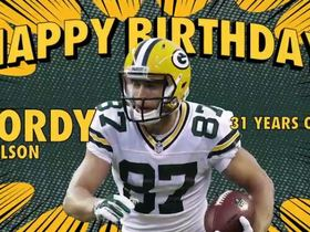 Watch: Happy 31st Birthday Jordy Nelson