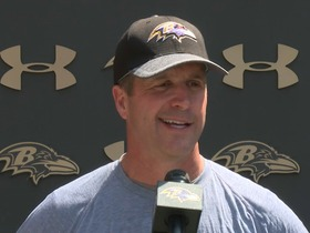 Watch: John Harbaugh: It's completely my fault