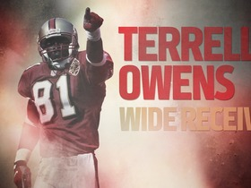Watch: NFL Legends: Terrell Owens career highlights