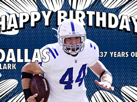 Watch: Happy 37th Birthday Dallas Clark