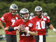 Watch: QB competition during training camp
