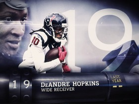 Watch: 'Top 100 Players of 2016': No. 19 DeAndre Hopkins