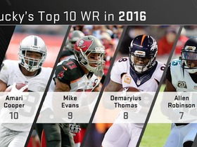 Watch: Ranking the top 10 WRs in the NFL