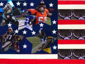 Watch: Honoring the Stars and Stripes of the NFL