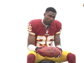 Watch: Bashaud Breeland At Redskins Photo Day
