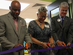 Watch: Grand opening for Rose Andom Center