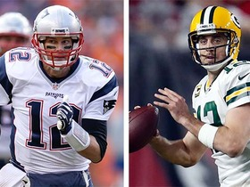 Tom Brady vs. Aaron Rodgers Top 100 Players