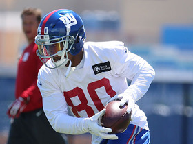 Watch: How far will the Giants go with a healthy Victor Cruz?