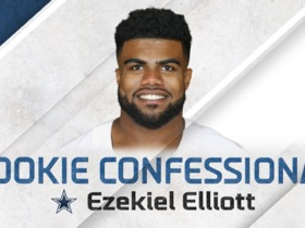 Watch: Rookie Confessional: Ezekiel Elliot