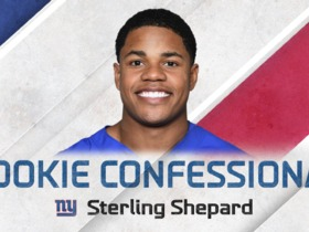 Watch: Rookie Confessional: Sterling Shepard