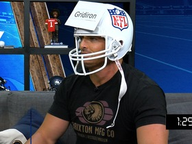 """Watch: How fast is David Carr at """"Helmets Up""""?"""