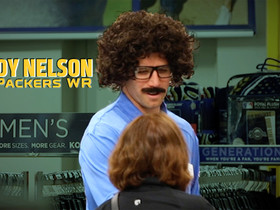 Watch: Jordy Nelson goes undercover at Kohl's