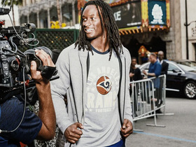 Watch: Gurley goes Hollywood for fashion photo shoot