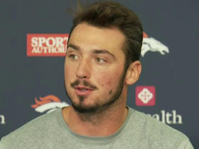 Watch: Paxton Lynch ready to battle for starting job