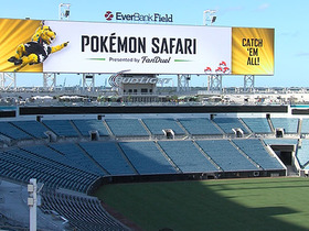 Watch: Jaguars host Pokemon Safari