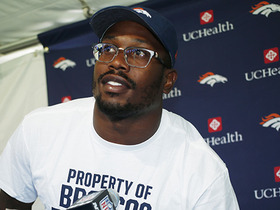 Watch: Von Miller on Broncos: 'We have high expectations on all of us'