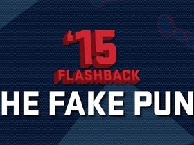 Watch: '15 Flashback: The Fake Punt